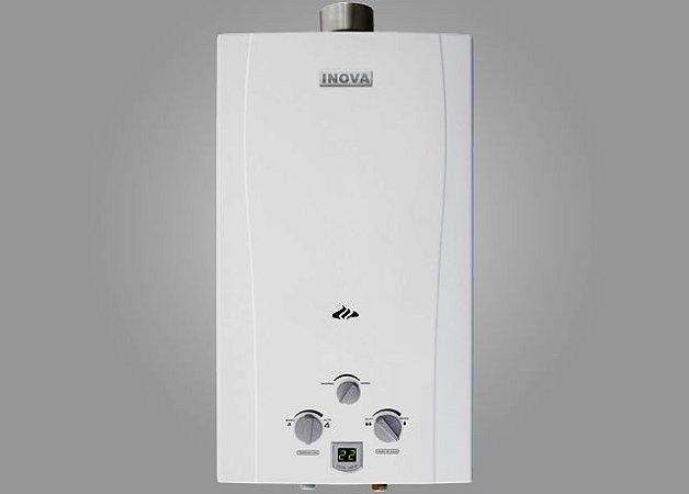 Aquecedor De Água A Gás In-2200 GLP INOVA - 19 L/min
