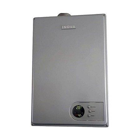 Aquecedor De Água A Gás IN-230D PRATA GN INOVA - 27,5 L/min