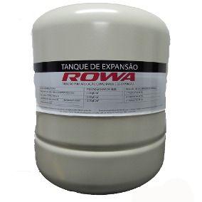 Vaso de Expansão 35 litros ROWA - VERTICAL - AÇO CARBONO