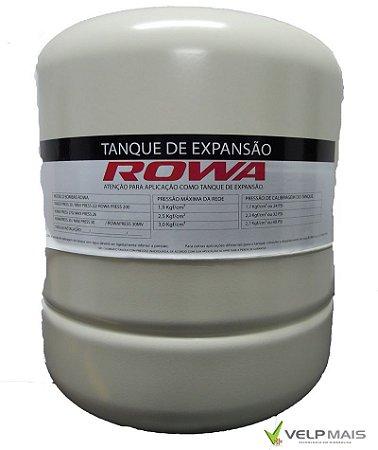 Vaso de Expansão 60 litros ROWA - VERTICAL - AÇO CARBONO