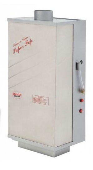 Sauna A Vapor | SUPER POP INOX - GÁS - 20m³ - SOCALOR
