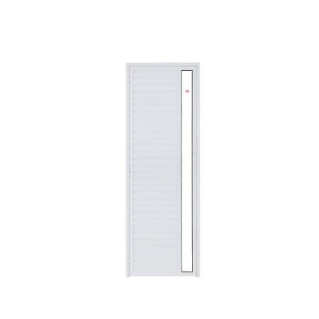 Porta P/ Sauna Aluminio Direita SOCALOR Prata