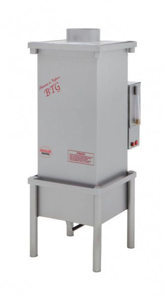 Sauna A Vapor | BTG 80 - INOX - GÁS - 80m³ - SOCALOR