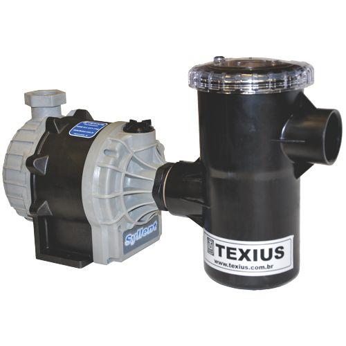 Bomba c/ Pré-Filtro Texius TBHA-PFR 1/4CV 110v