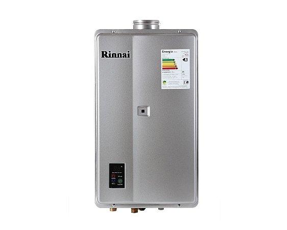 Aquecedor a Gás Rinnai REU-E33 - FEH PRATA - GLP - 32,5 L