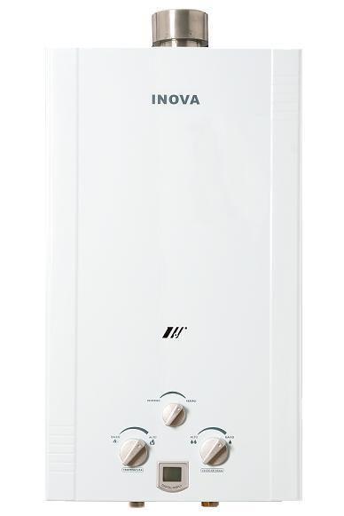 Aquecedor De Água A Gás In-180D GLP INOVA - 20 L/min