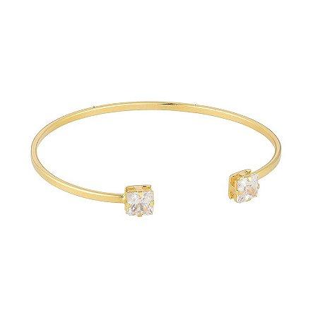 Bracelete Ponto de Luz Folheado em Ouro 18k - BCF515