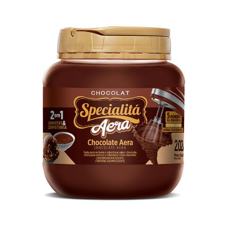 Recheio Aera Chocolate 2,020kg - Duas Rodas