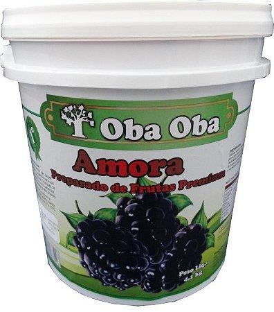Obaoba Preparado De Amora 4,1kg