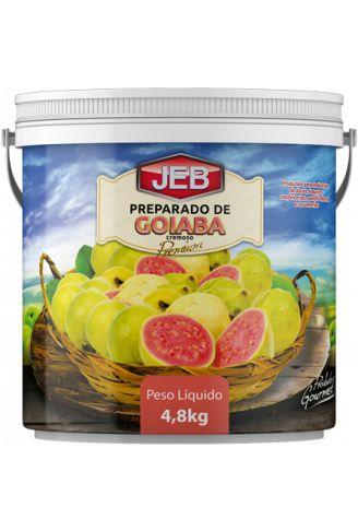 Preparado Goiaba Cremosa 4,8 Kg - Jeb