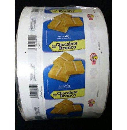 Bobina Chocolate Branco - Centenario