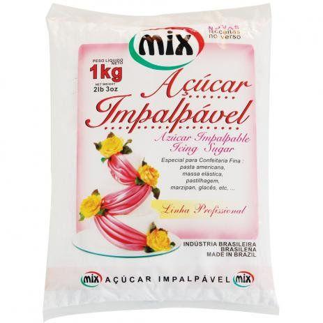 Acucar Impalpavel 1kg - Mix