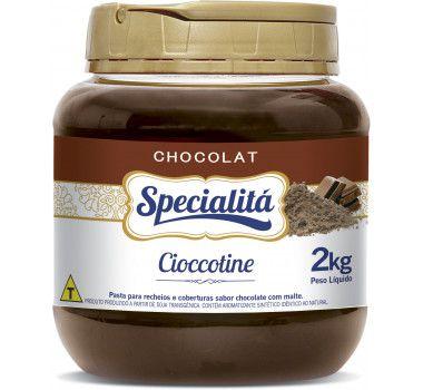 Recheio Cioccotine - 2kg Duas Rodas