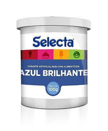 Corante Azul Brilhante 100gr - Duas Rodas