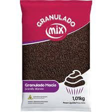 Granulado Macio Escuro 1kg - Mix
