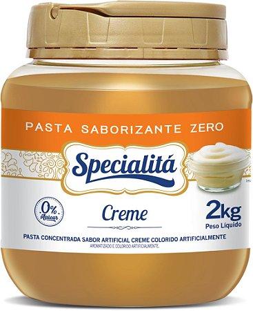 Creme Zero Pasta Sab. 2kg - Duas Rodas