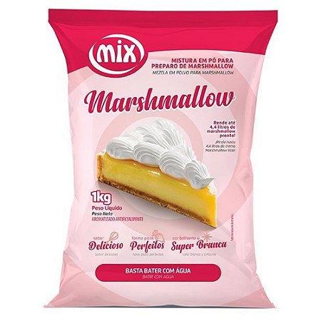 Marshmallow Em Pó 1kg - Mix