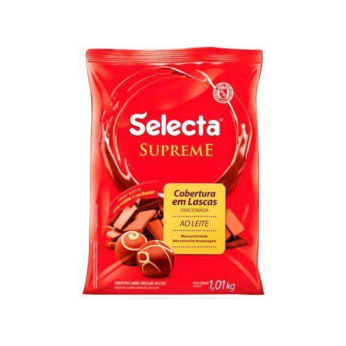 Gota De Chocolate Ao Leite Supreme 1kg - Duas Roda