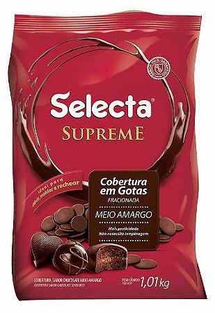 Gota Chocolate Meio Amargo Supreme 1kg - Duas Roda