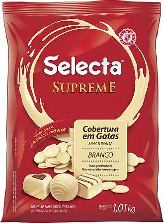Gota Chocolate Branco Supreme 1kg - Duas Rodas