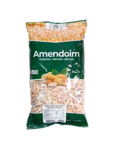 Amendoim Em Banda 0,900gr - Luke Alimentos