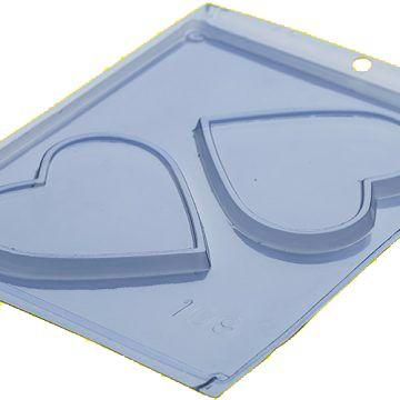 Forma Placa Coracao Acetato - Porto Formas