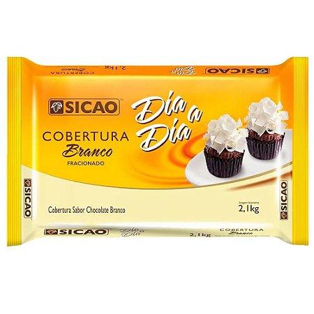 Barra Choc. Branco 1,01kg  Sicao Dia A Dia