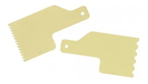 Kit Decorativo Mini Espatulas 7 Amarelo - Bluestar
