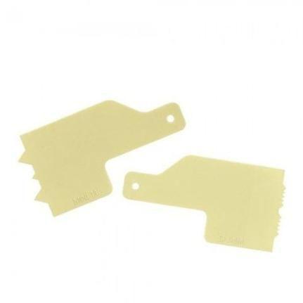 Kit Decorativo Mini Espatulas 6 Amarelo - Bluestar