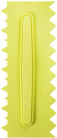 Espatula Decorativa 8 Amarela - Bluestar