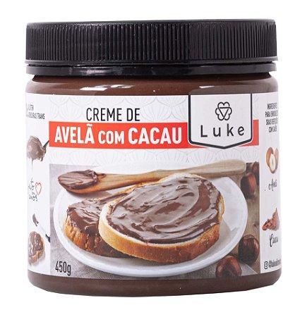 Creme De Avela C/ Cacau Luke 450gr - Luke Alimento