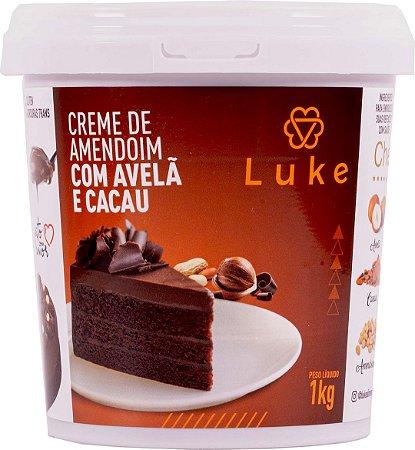 Creme De Amendoim C/ Avela E Cacau 1,005kg - Luke