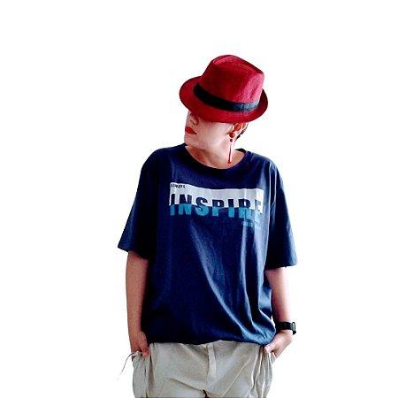 Camiseta inspire azul marinho