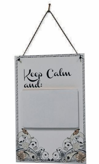 1756B-003 Placa Recados - Keep calm