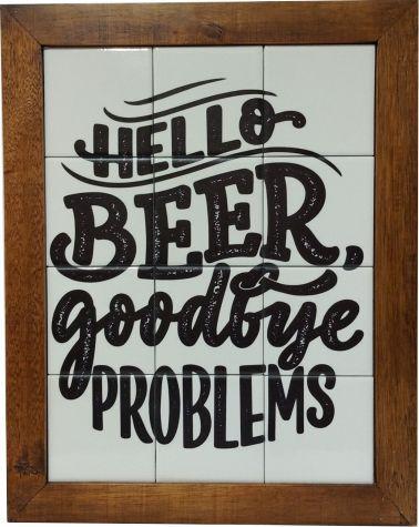 3093AM-088 Quadro de azulejo - Beer