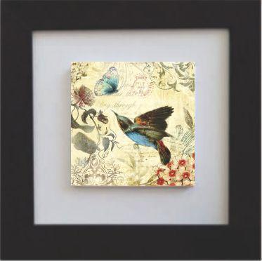3001-028 Quadro de azulejo Decor - Pássaro