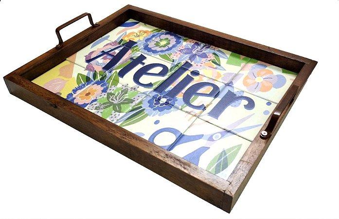 3096PM-058 Bandeja de Azulejo - Atelier
