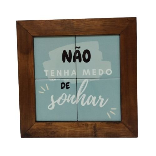 3094AP-032 Quadro de azulejo - Sonhar