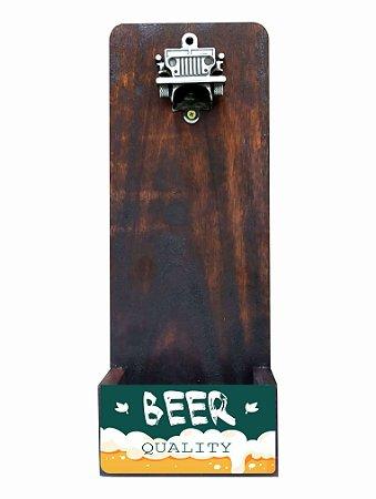 3071j-008 Abridor de Garrafas Jeep -  Beer