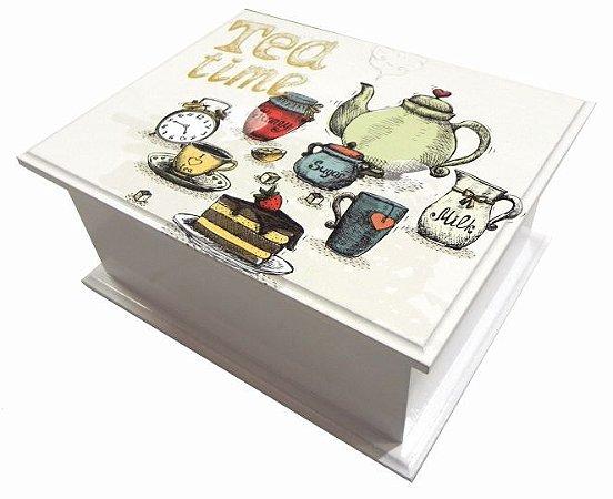 6003-001 Caixa de chá - Tea Time