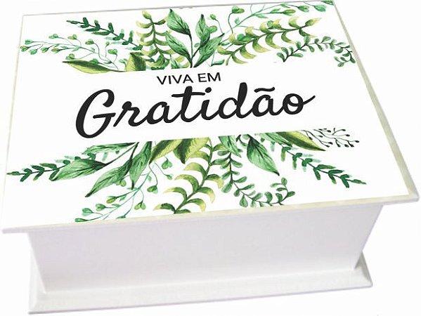 6003-004 Caixa de Chá - Gratidão