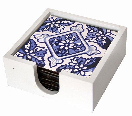 1800P-007 Suporte de copo Azulejo - Azulejo Português