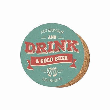 1880-C037 Suporte de copo Compensado - Drink beer