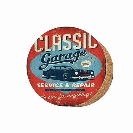 1880-C043 Suporte de copo Compensado - Classic Garage