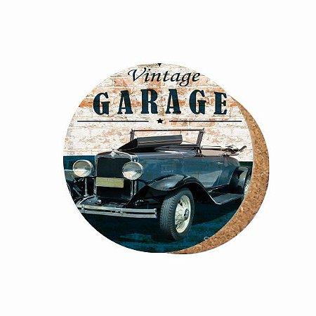 1880-C048 Suporte de copo Compensado - Vintage Garage