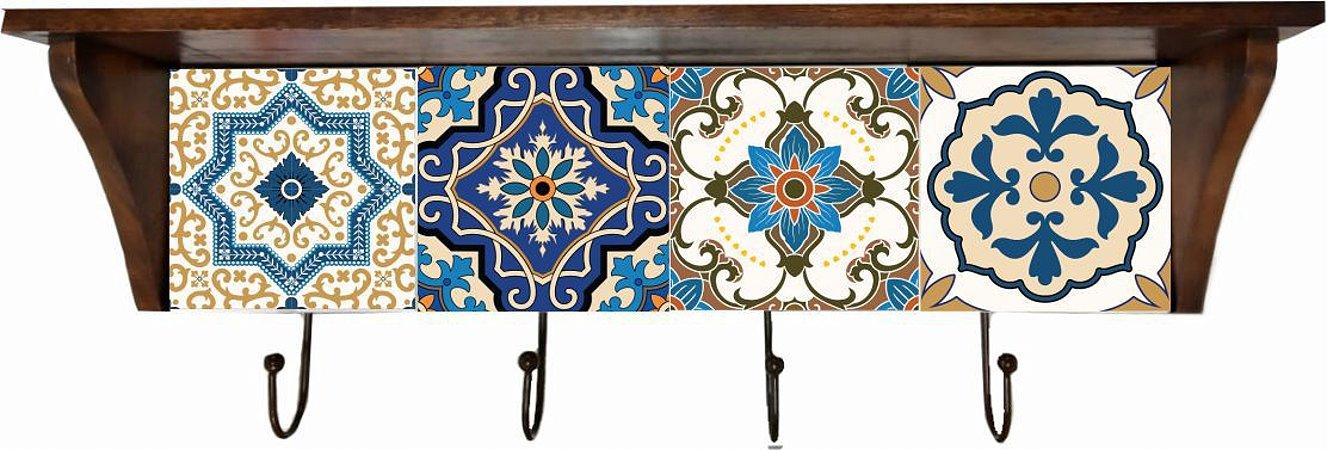 3014N-001 Prateleira de azulejo - Português