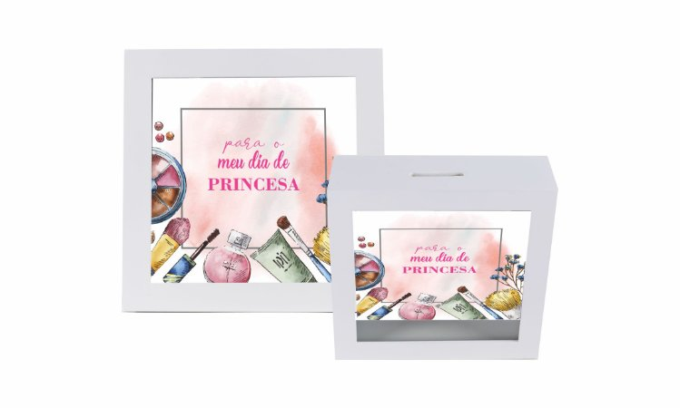 Cofrinho - Princesa