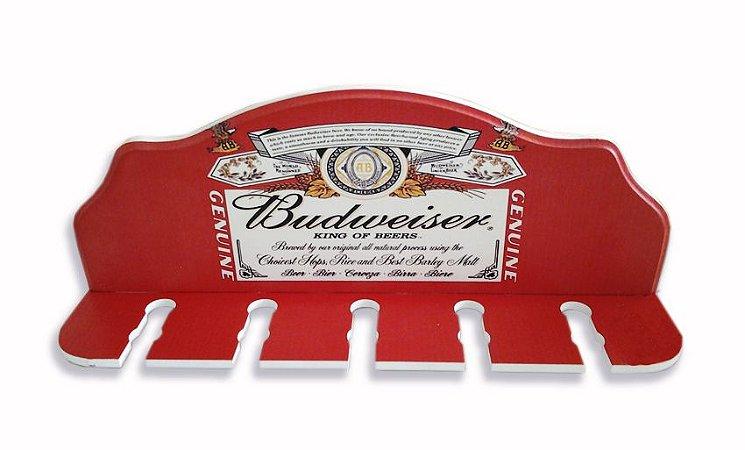 2203 Porta espeto - Budweiser Rótulo
