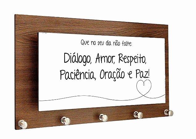1601-013 Porta Chaves Alto Relevo - Paz