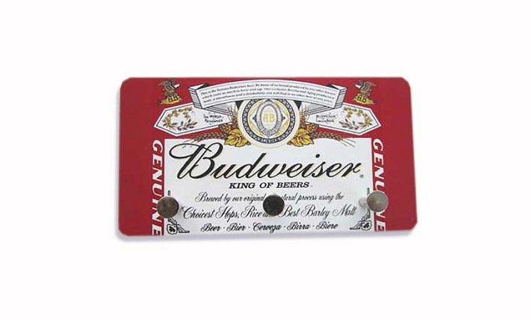 3207 Porta chaves metal - Budweiser